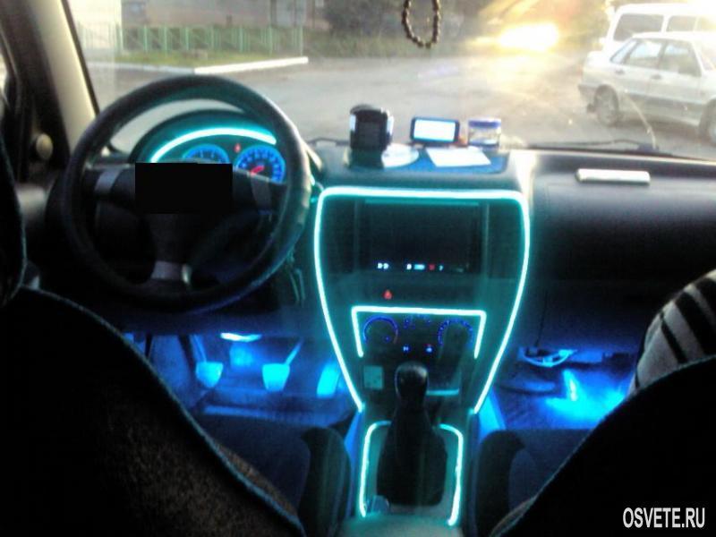Светодиодные ленты своими руками для автомобиля