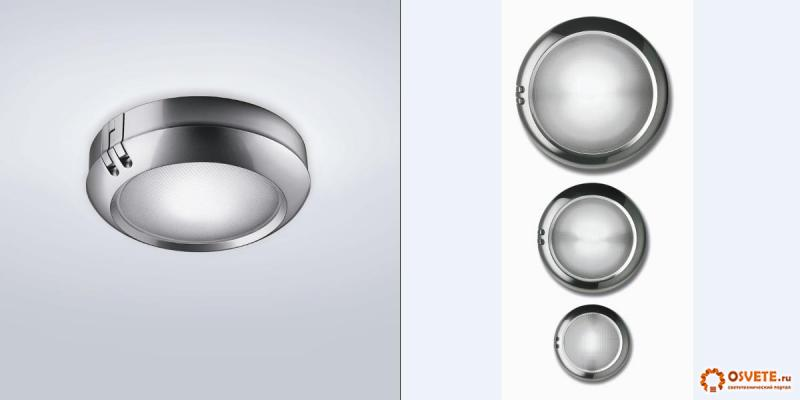 Nemo светильник Constellation 27 Wall/Ceiling Light OPEN BOX SALE silver/grey, R7s 1x100W