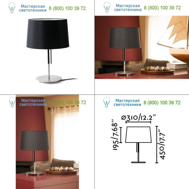Faro VOLTA Black table lamp 20026, светильник