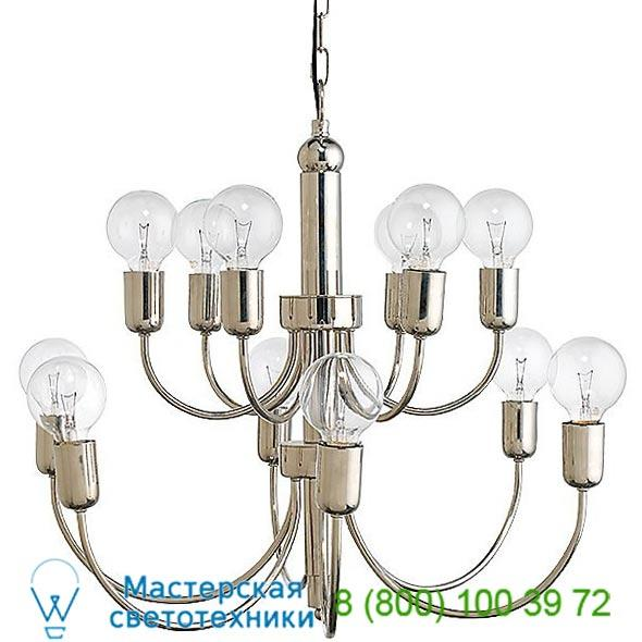 5SAVO-CHAB Jamie Young Co. Savoy 2-Tier Chandelier, светильник